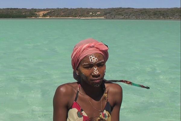 Mujer en Madagascar