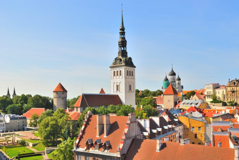 Tallinn. View of the Old Town