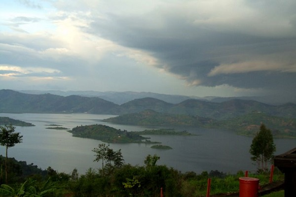 paisaje en Ruanda
